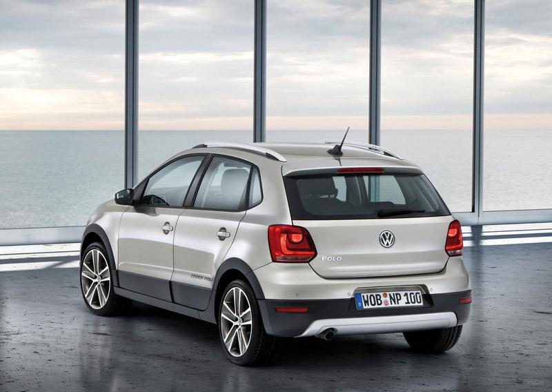 Volkswagen Кросс Поло (вид сзади)