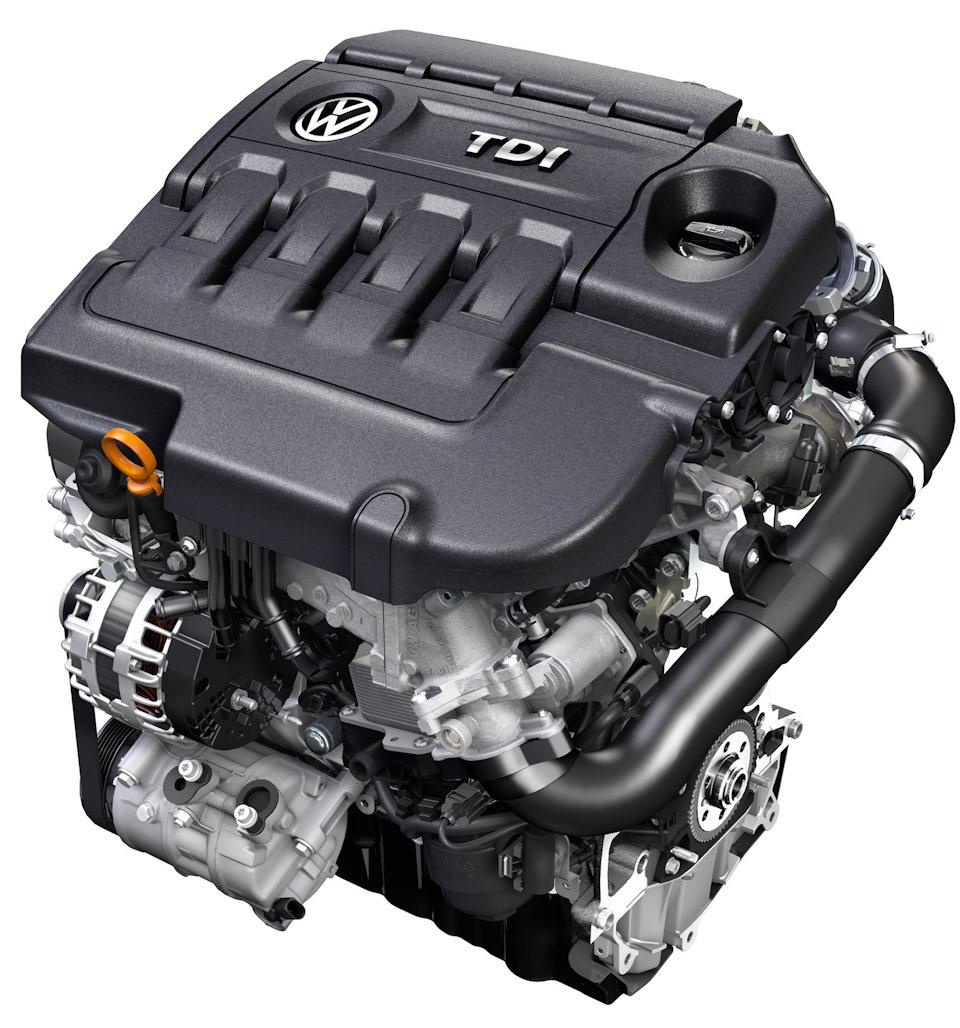 Двигатель EA288 Clean Diesel TDI Engine