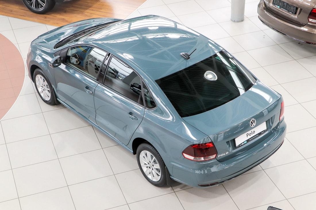 Фото Volkswagen Polo Connect (вид сверху)