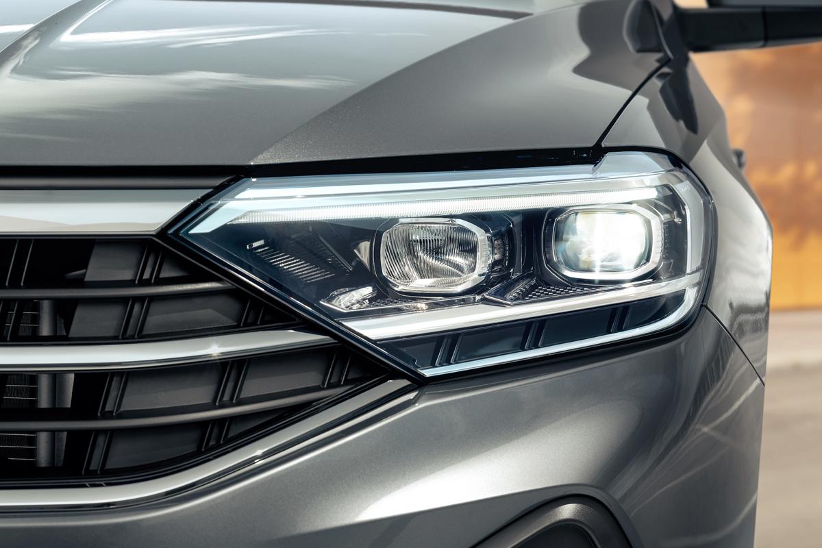 Обновленная светотехника на VW Polo 2020