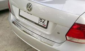 Порядок снятия заднего бампера с Фольксваген Поло седан