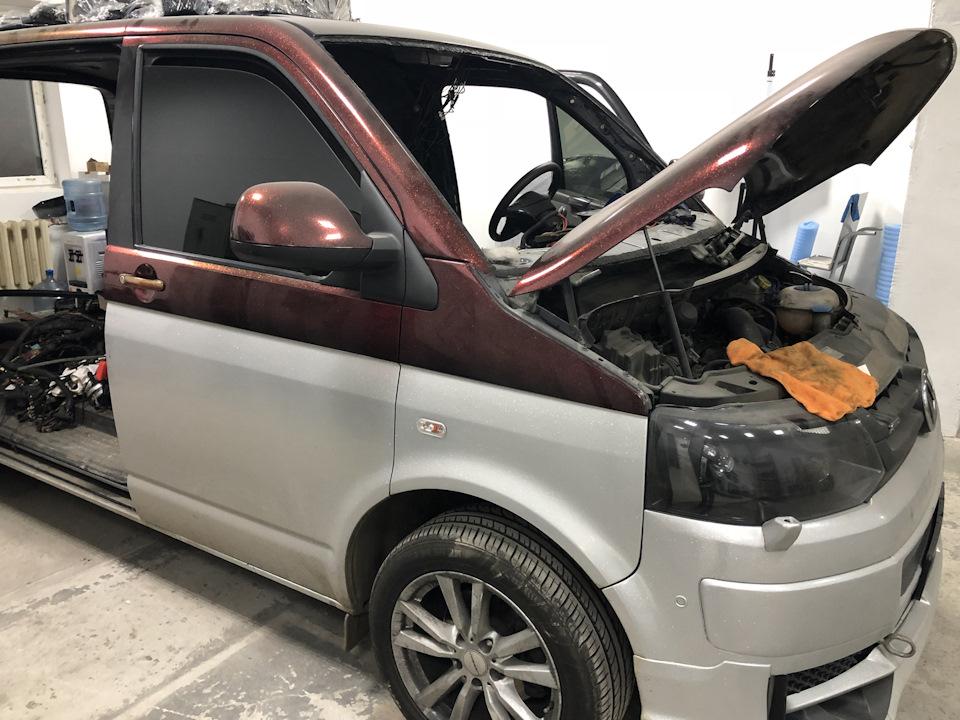 ремонта Volkswagen Transporter T5