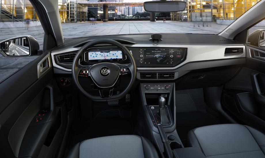 Салон Volkswagen Virtus
