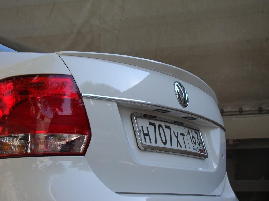 Спойлер на VW Polo седан