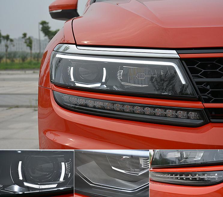 Тюнинг оптики (LED) для Volkswagen Tiguan 2017