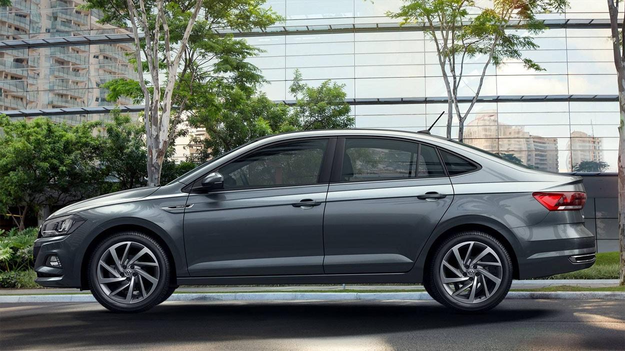 Volkswagen Virtus 2018 (вид сбоку)
