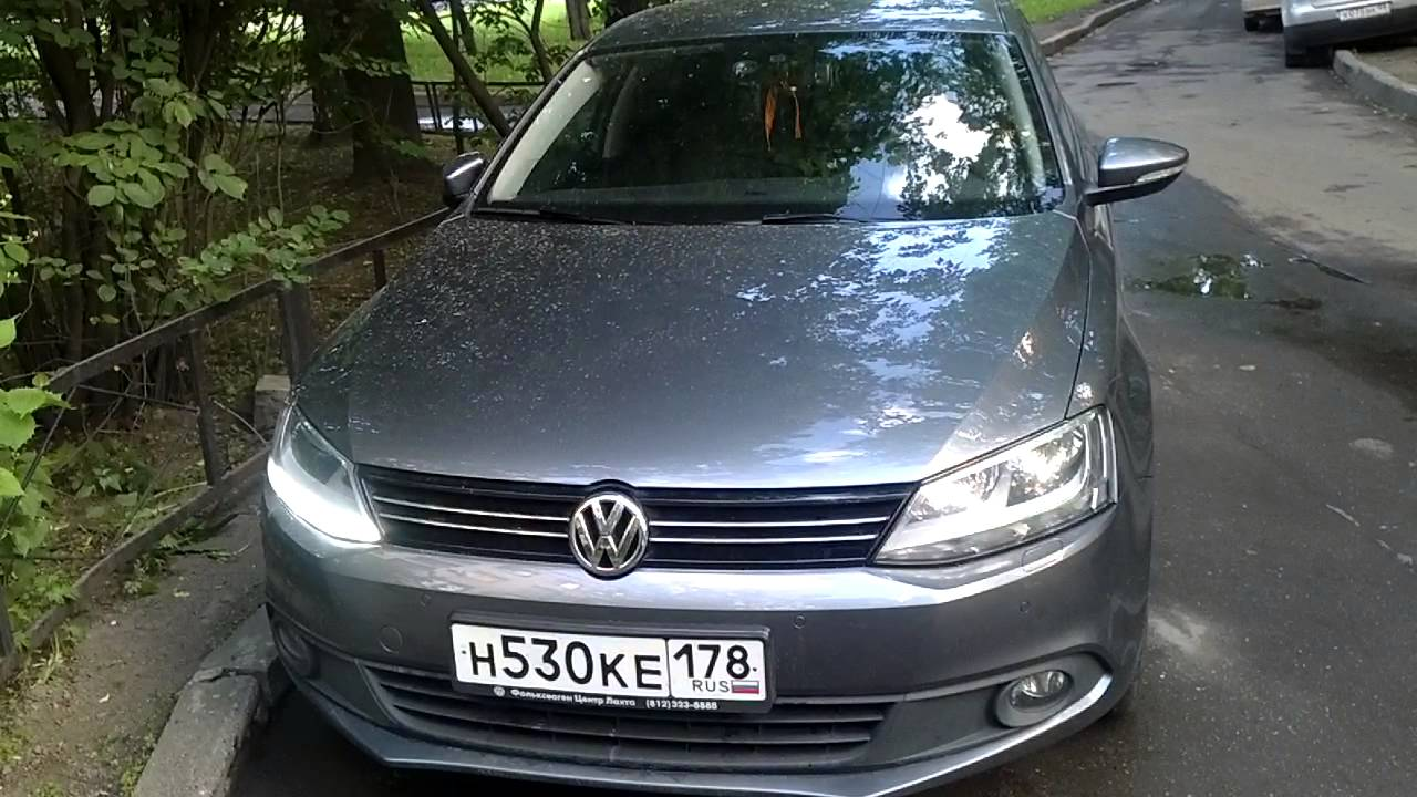 ДХО на VW Jetta 6
