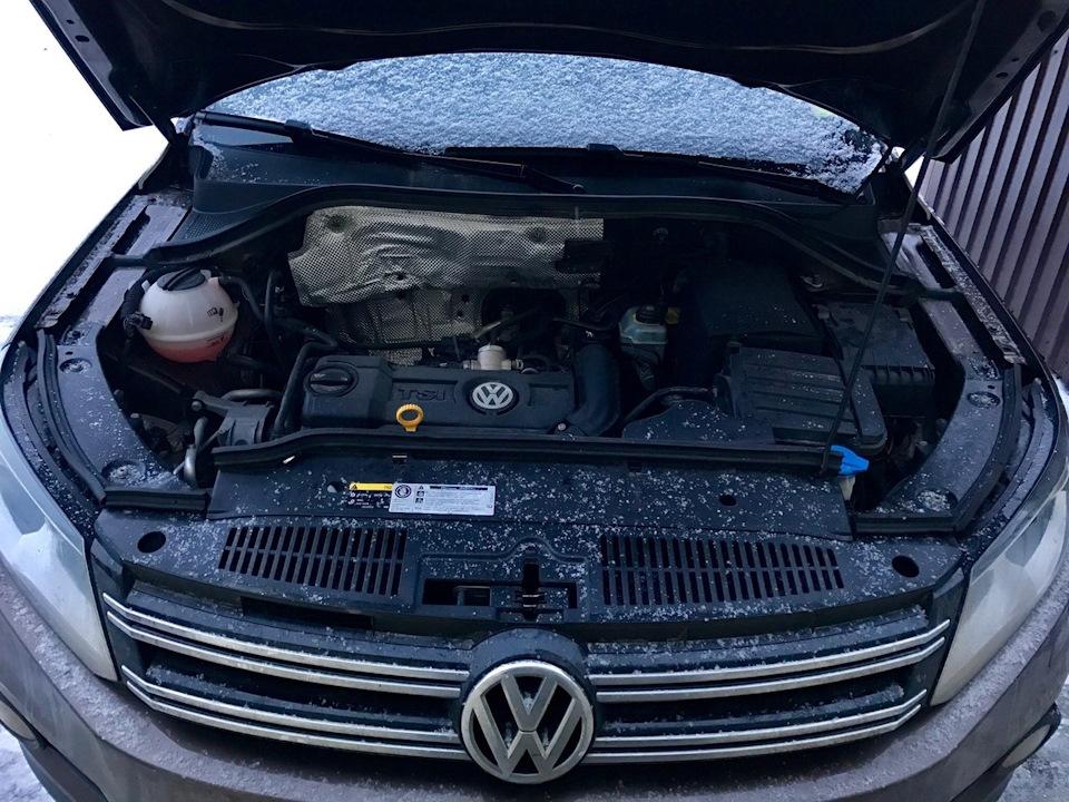 Двигатель на VW Тигуан 2015