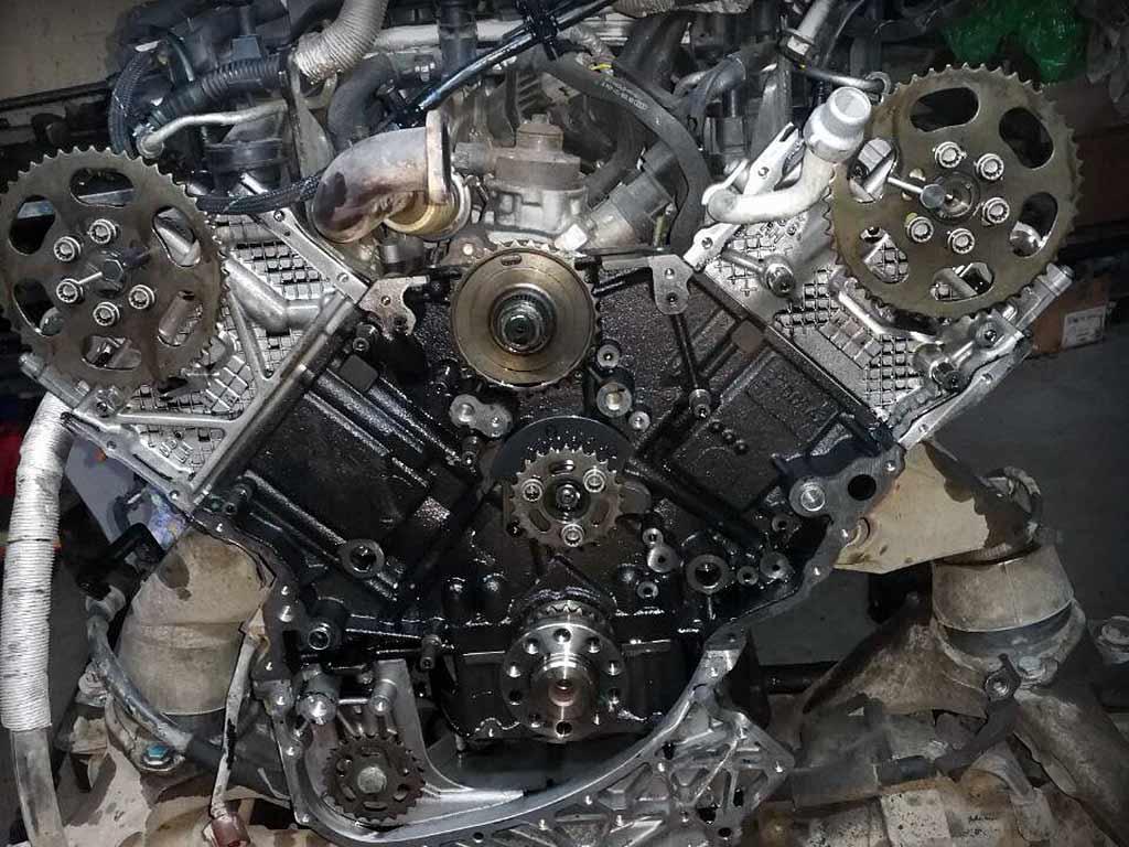 Двигатель Touareg NF