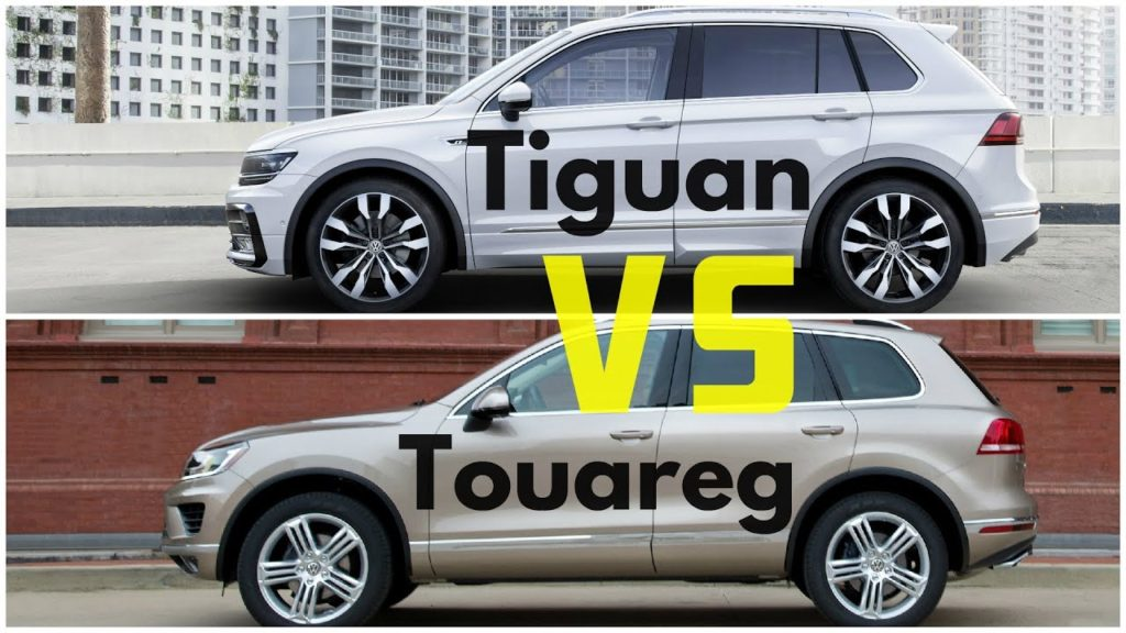 Touareg и New Tiguan 2016