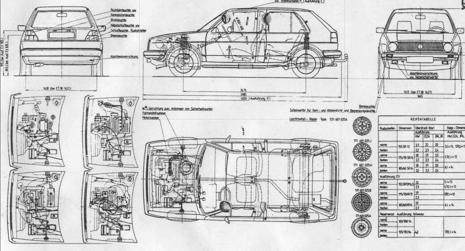 Устройство Volkswagen Jetta 2