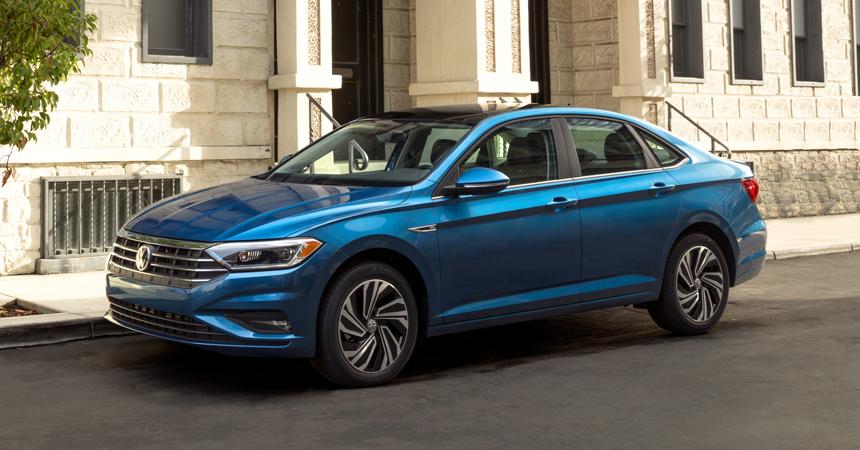 Внешний вид Volkswagen Jetta 2020