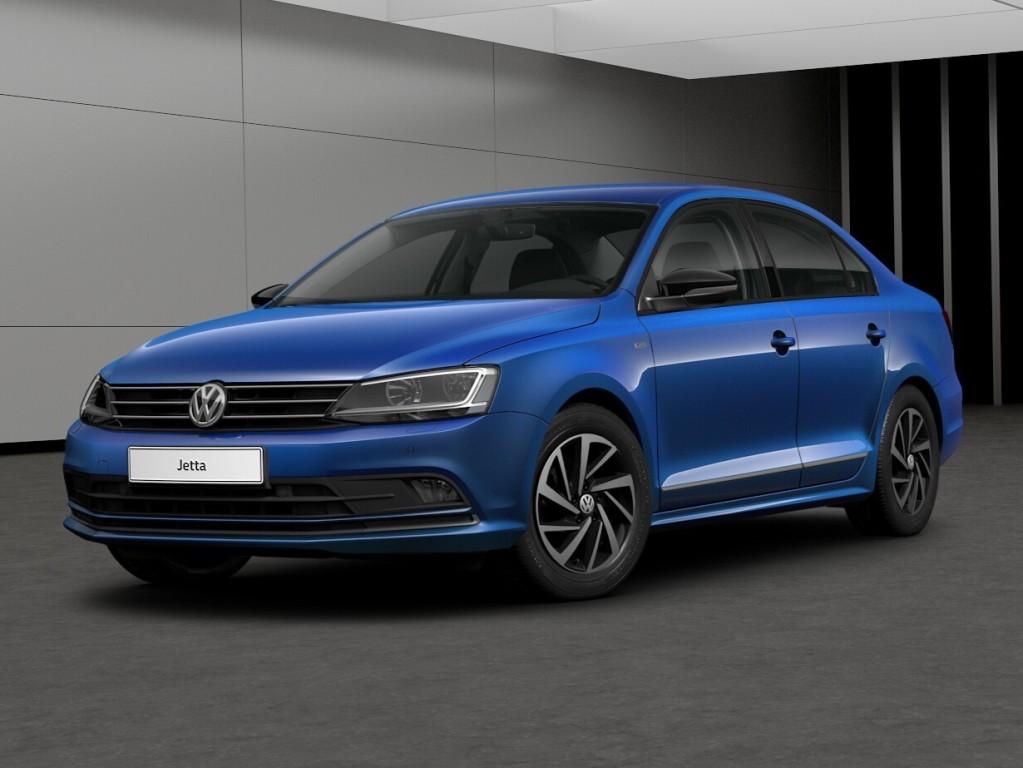 Volkswagen Jetta 2017 Life (вид спереди и сбоку)