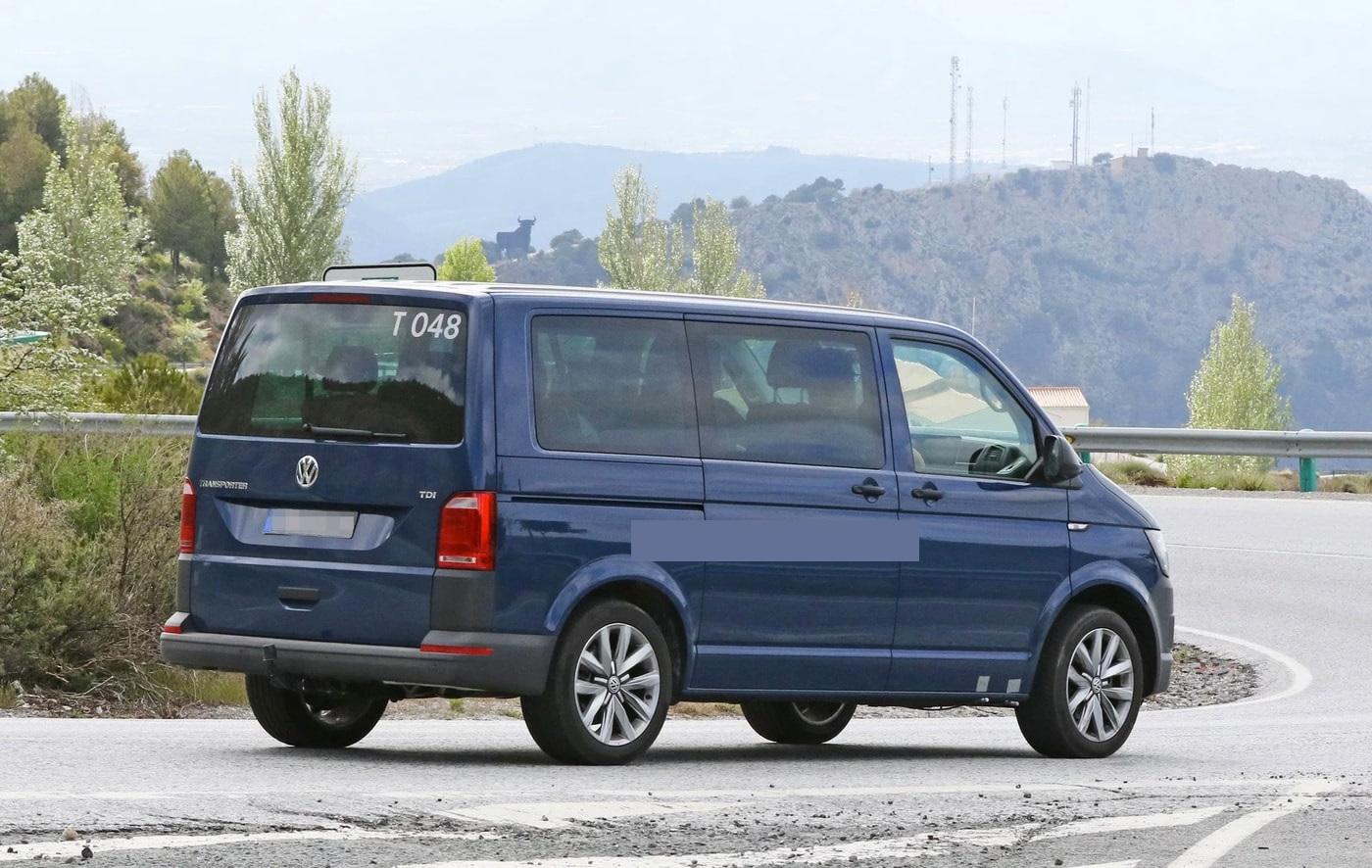 Volkswagen T7 (вид сбоку)