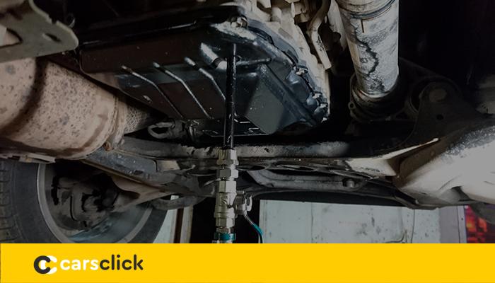 Замена масла в АКПП Фольксваген Туарег своими руками