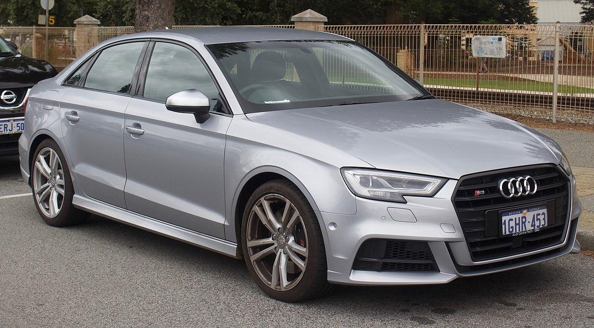 2017 Audi S3 (8V MY17) quattro sedan