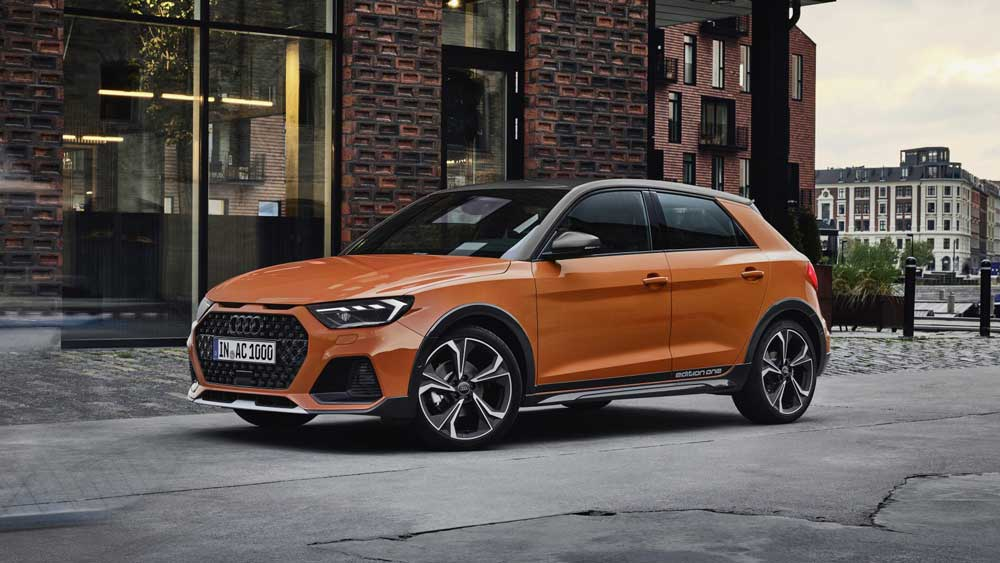 Фото Audi A1 Citycarver 2019