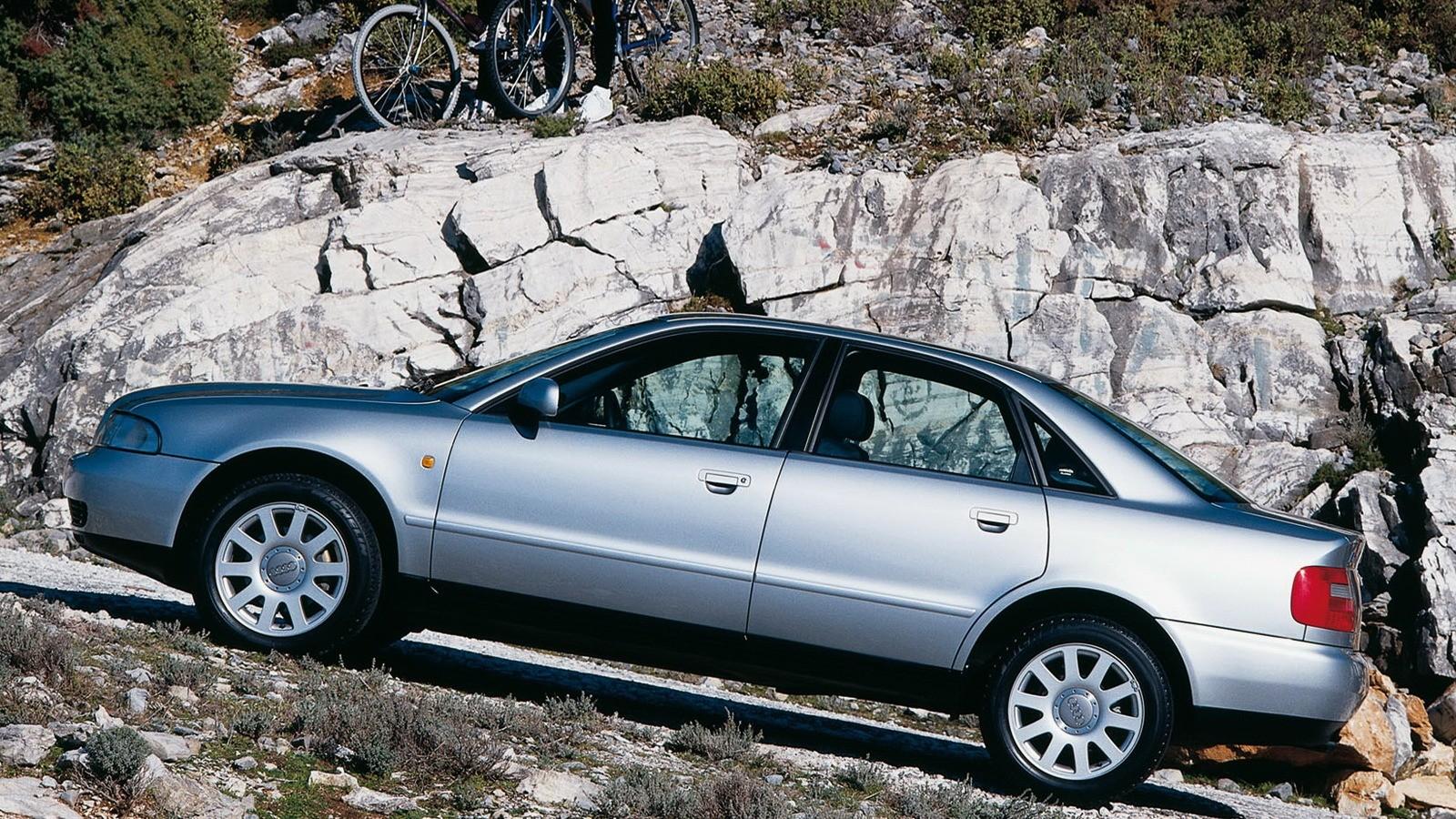 Audi A4 B5 в горной местности