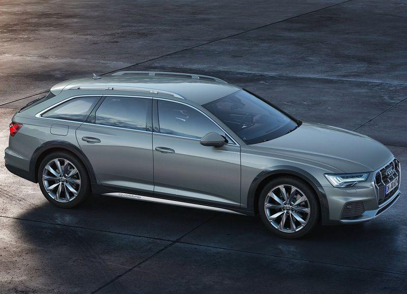 Audi A6 Allroad Quattro 2020 в профиль