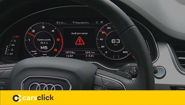 Audi pre sense - обзор и описание