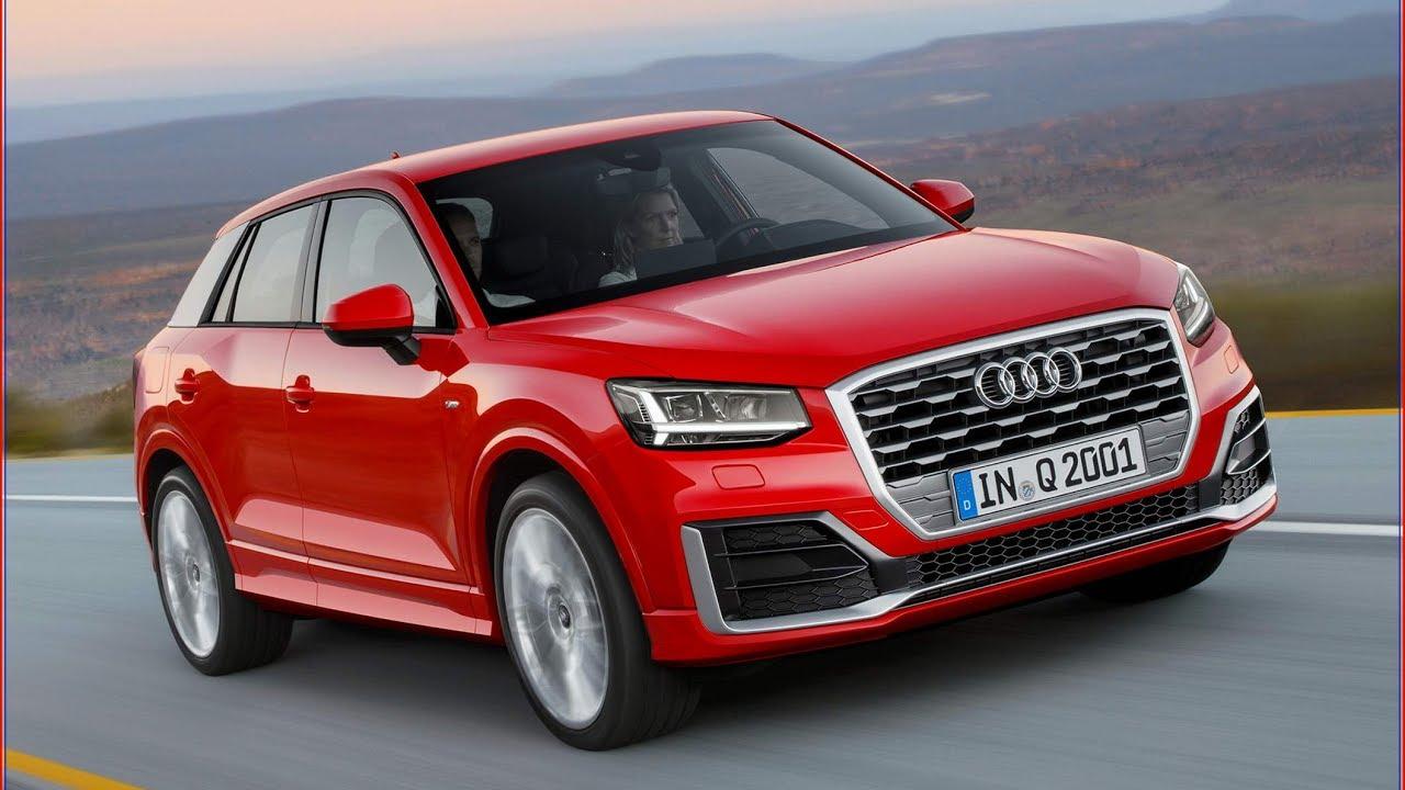 Audi Q2 в красном цвете