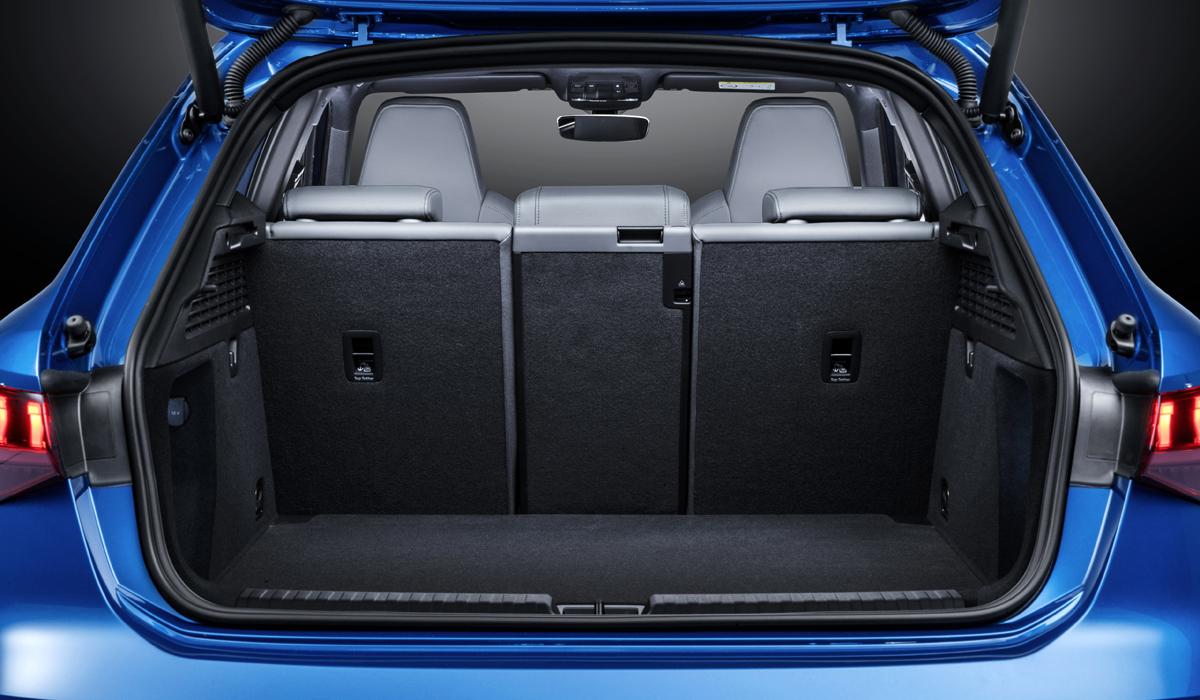 Багажник в Audi A3 Sportback 2020