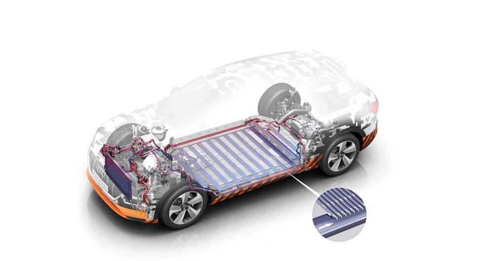 Батарея в Audi E-tron