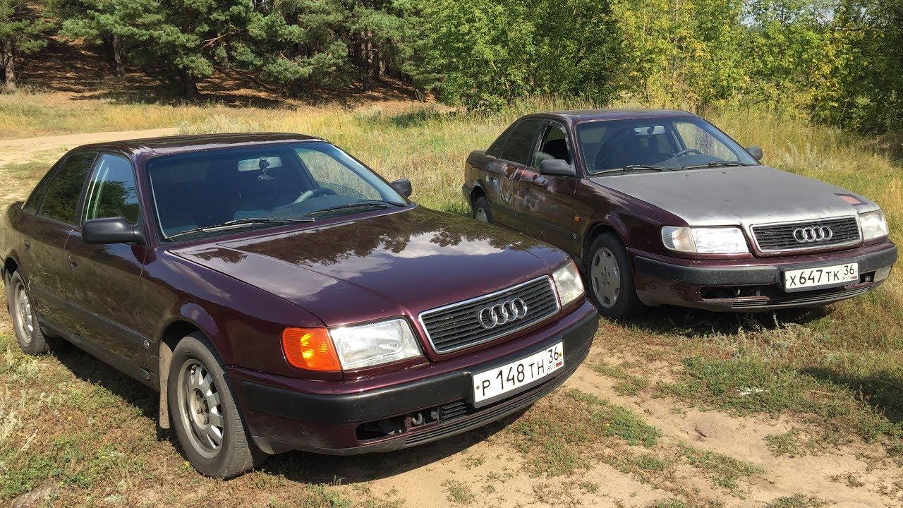 Две Ауди 100 (фото)