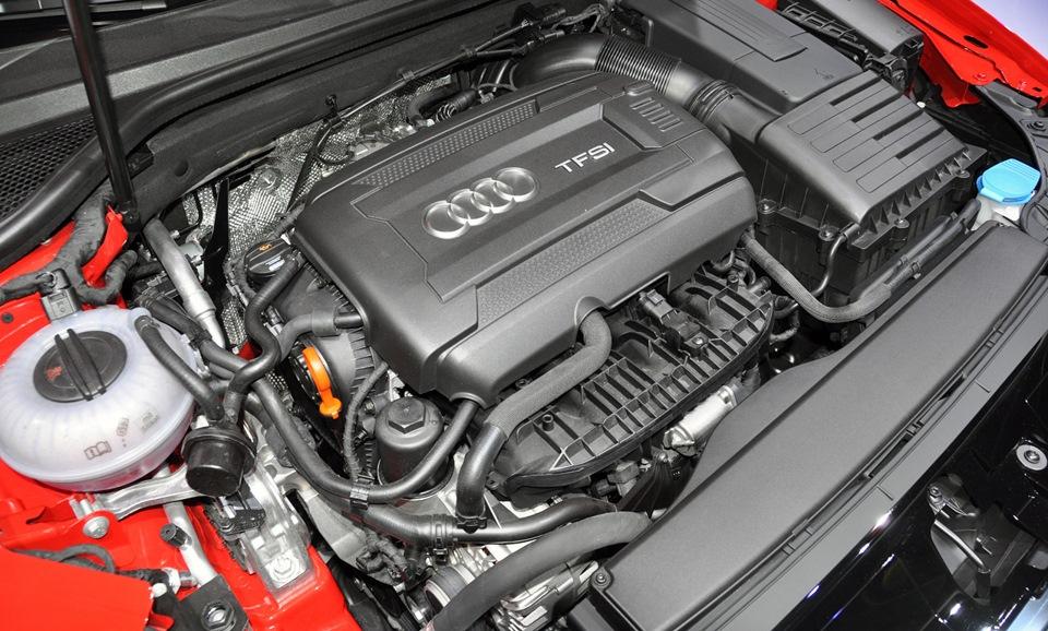 Двигатель в Audi A3 8P (II)