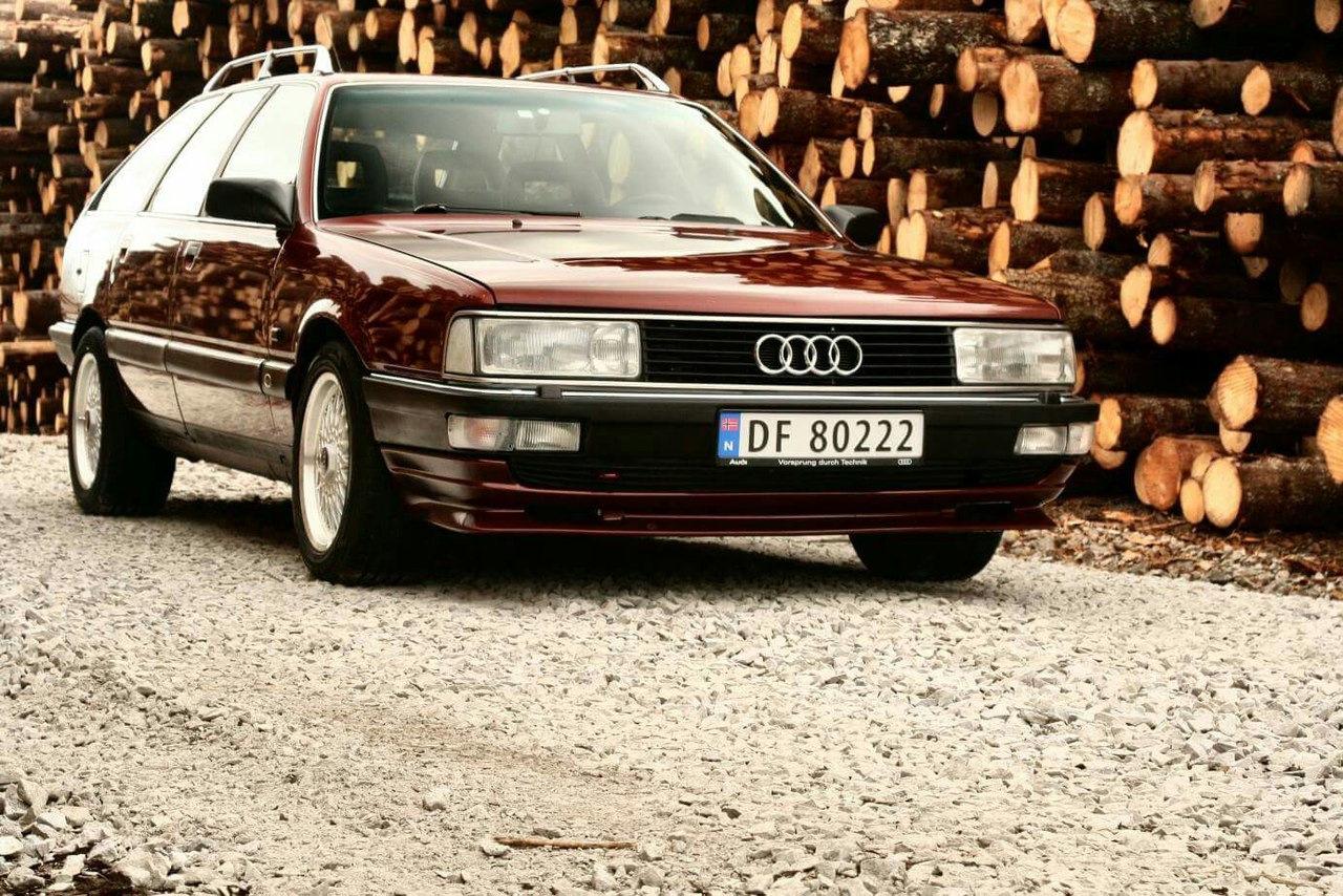 Фото Audi 100 C3 Avant Quattro Turbo Sport