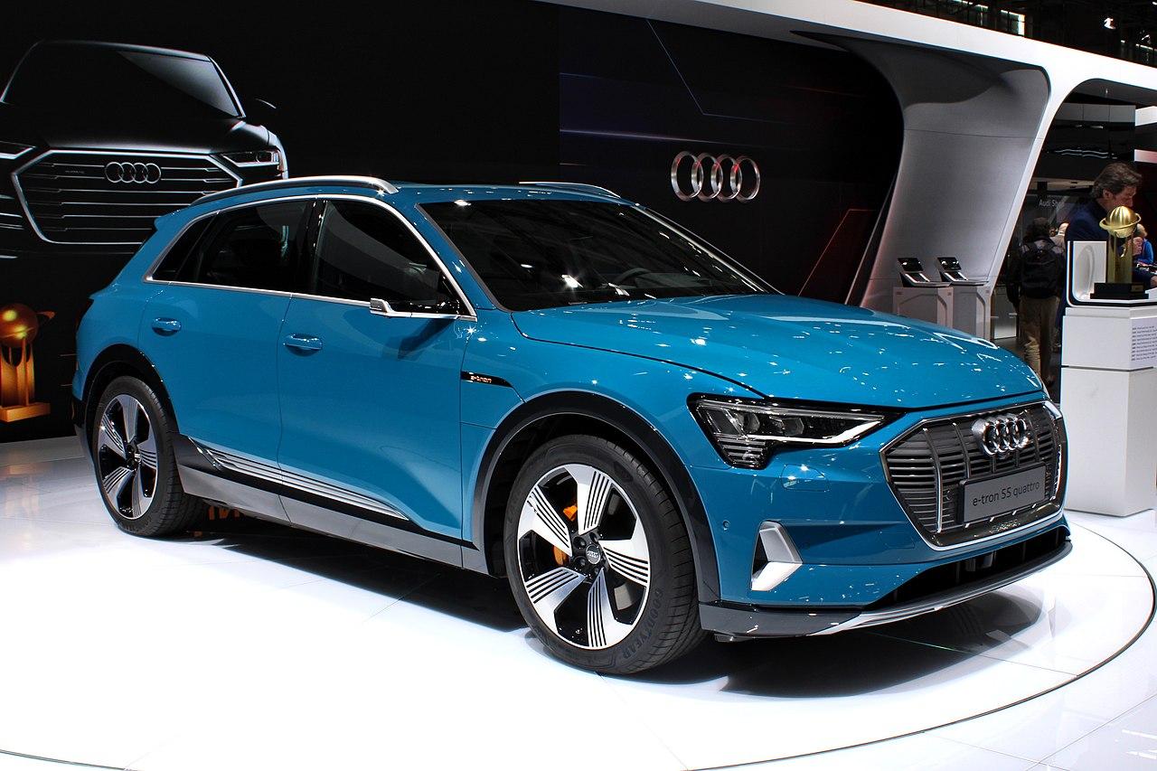 Фото Audi e-tron 55 Quattro