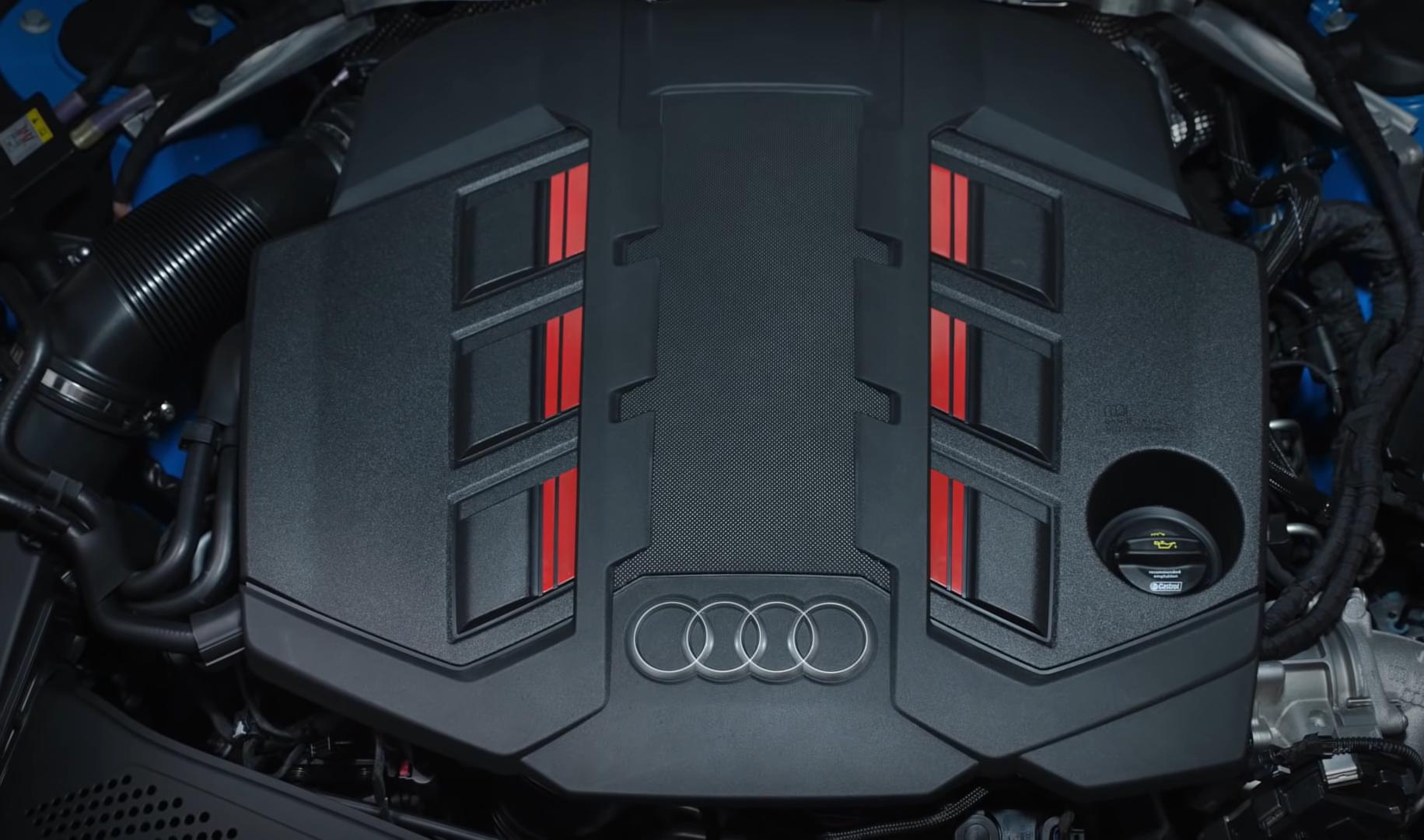 Мотор на Ауди А4 2020