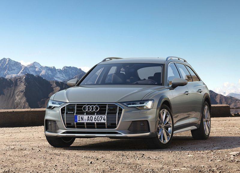 Перед Audi A6 Allroad Quattro 2020