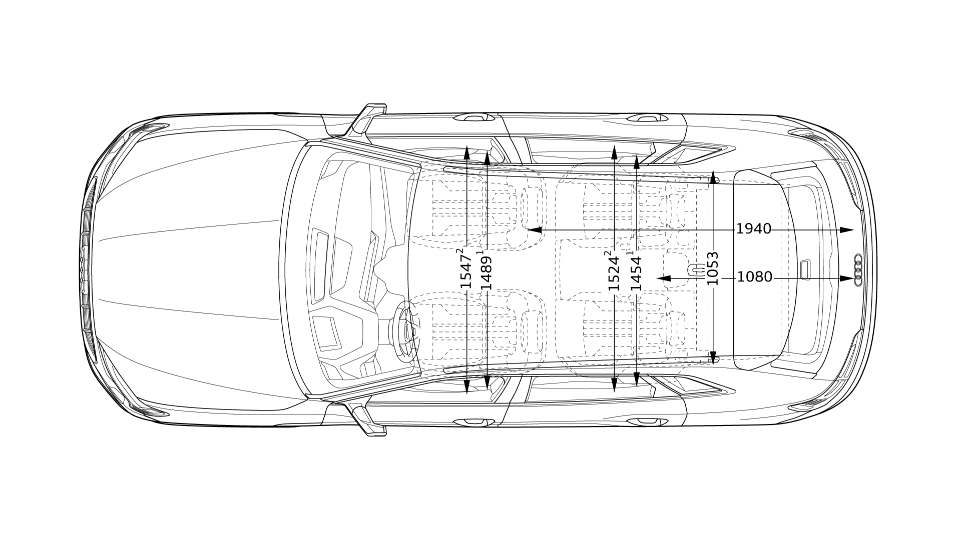 Размеры Audi E-tron