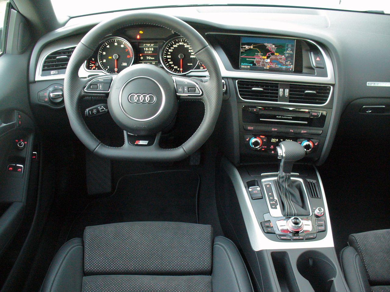 S-tronic в автомобиле Ауди А5 купе