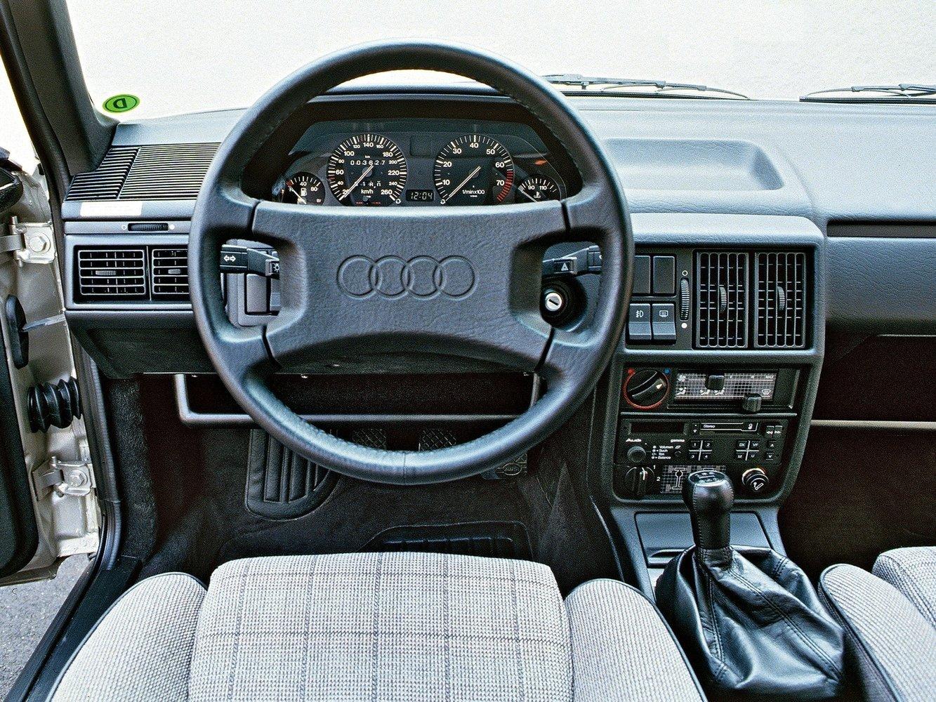 Салон Audi 100 C3