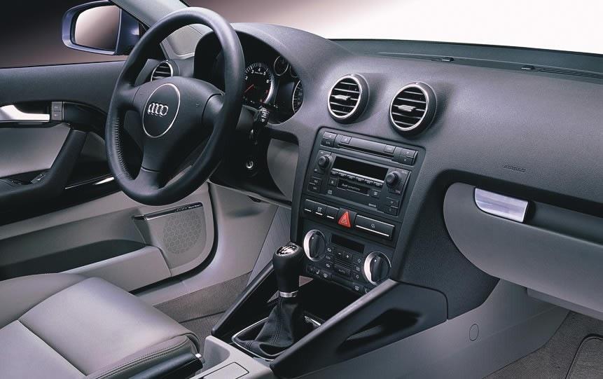 Салон Audi A3 8P