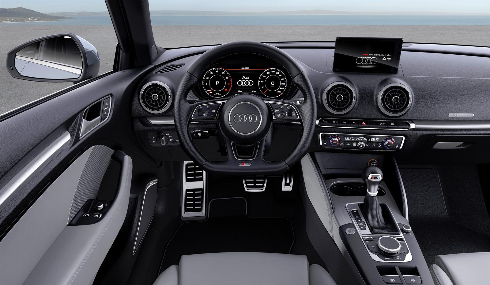 Салон Audi A3 8V