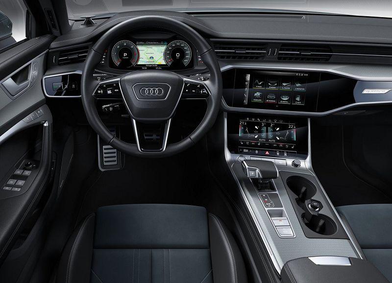 Салон Audi A6 Allroad Quattro 2020