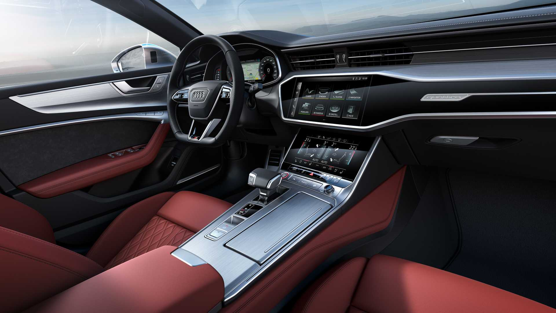 Салон Audi S7 Sportback TDI 2019-2020