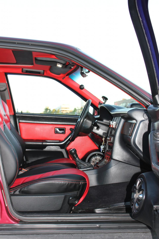 Современный салон Audi 80 B4