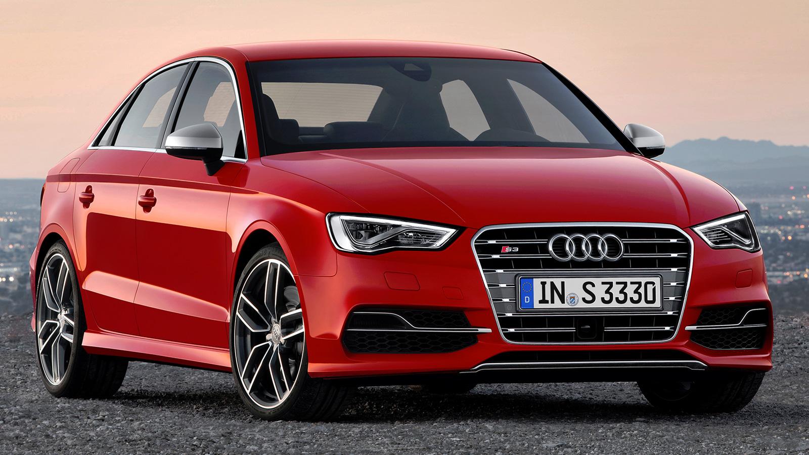 Спорт-седан Audi S3 третьего поколения