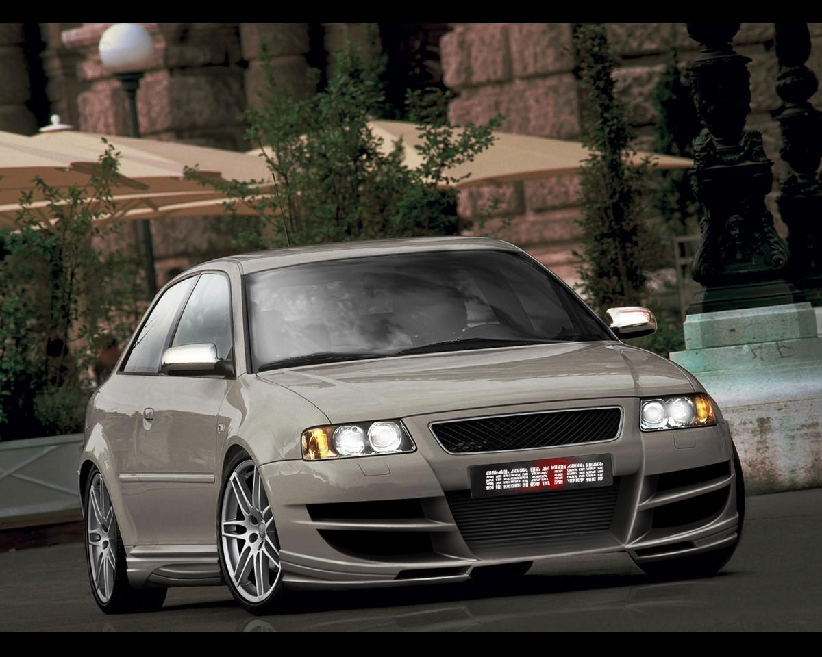 Тюнингованная Audi A3 8L