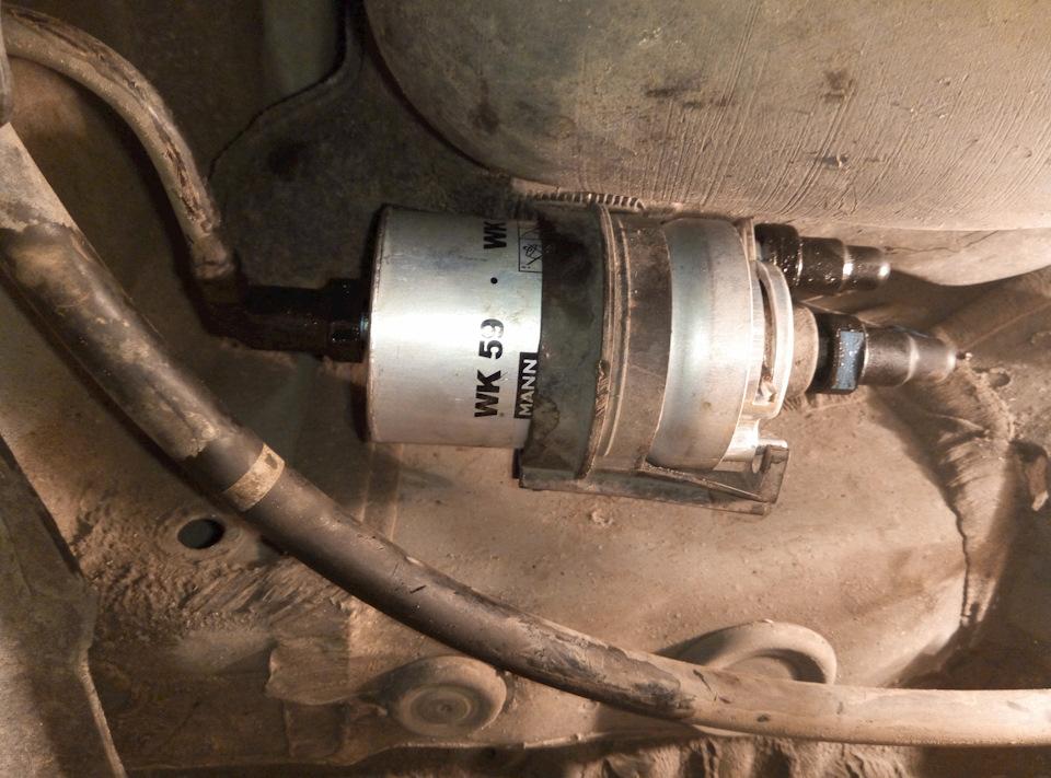 топливный фильтр фольксваген поло