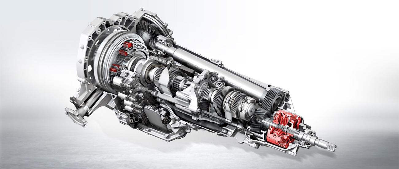 Устройство S-Tronic Audi