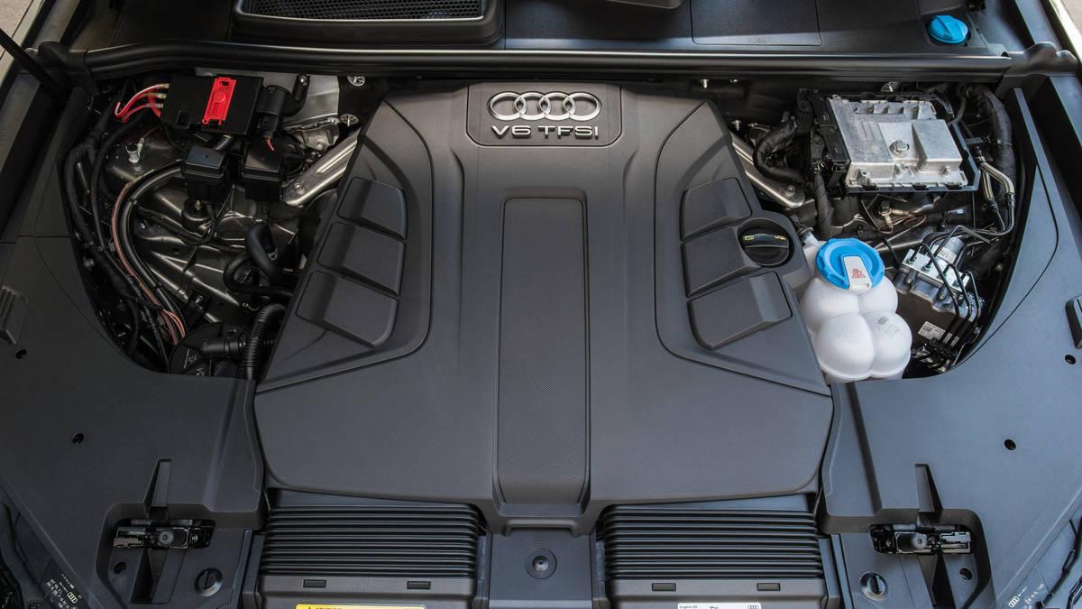 Двигатель на Ауди Q7 2018