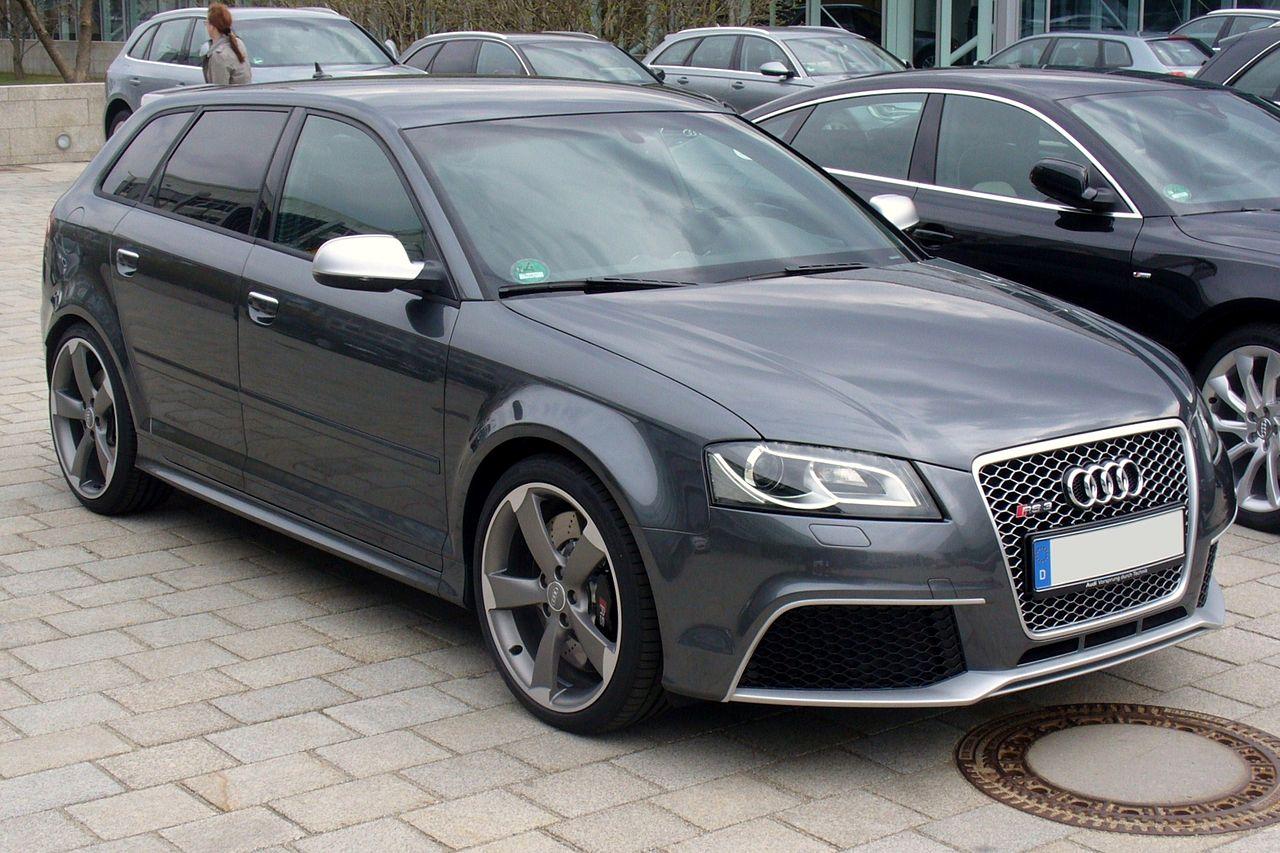 Фото Audi RS3 первого поколения