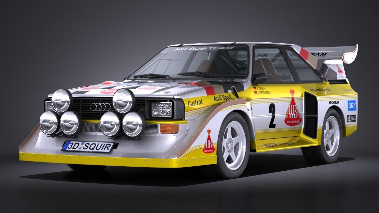 Фото Audi Sport Quattro S1