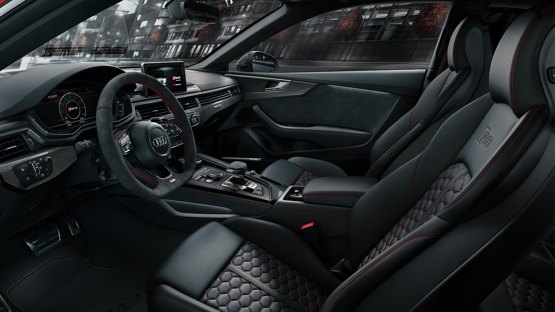 Фото салона Ауди RS5 Coupe