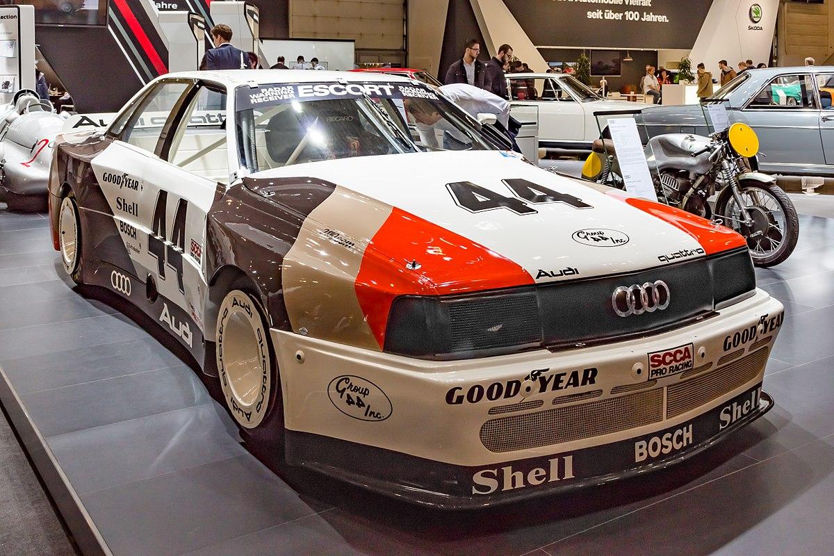 Необычный Audi 200 Trans Am